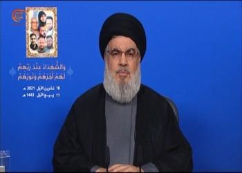 نصر الله: حزب القوات أخطر تهديد للبنان.. وهدفه الحرب الأهلية