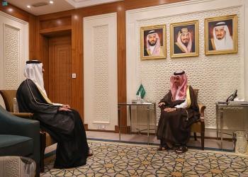 مباحثات بين وزير الخارجية السعودي وسفير قطر بالمملكة