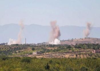 قصف روسي يستهدف ريف إدلب شمالي سوريا