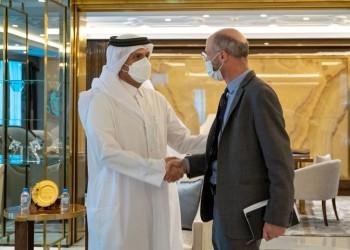 وزير الخارجية القطري يجتمع مع المبعوث الأمريكي الخاص لإيران
