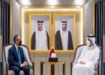 وزير خارجية قطر يتسلم أوراق اعتماد السفير المصري بالدوحة