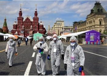 روسيا تسجل أكثر من 34 ألف إصابة وألف وفاة بفيروس كورونا
