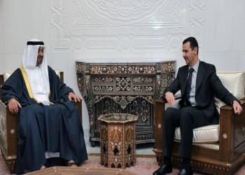 محمد بن زايد والأسد يبحثان مستجدات سوريا والشرق الأوسط