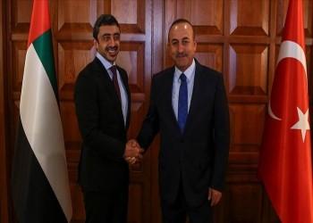 وزيرا الخارجية التركي والإماراتي يبحثان هاتفيا العلاقات الثنائية
