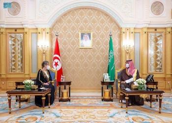 بن سلمان يلتقي رئيسة الحكومة التونسية بالرياض