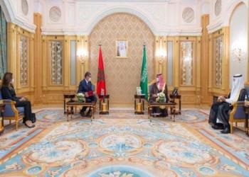 ولي العهد السعودي يتسلم رسالة خطية من الملك المغربي