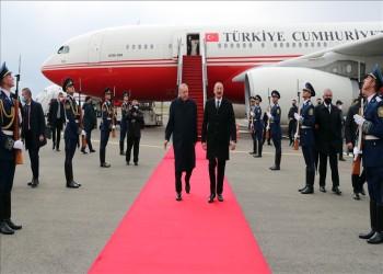 علييف وأردوغان يفتتحان مطار قره باغ الدولي