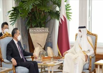 أمير قطر يبحث مع وزير خارجية الصين تعزيز العلاقات الثنائية