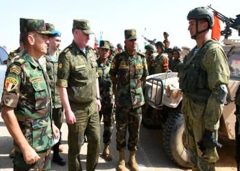 ختام فعاليات التدريب المصري الروسي المشترك (حماة الصداقة - 5)